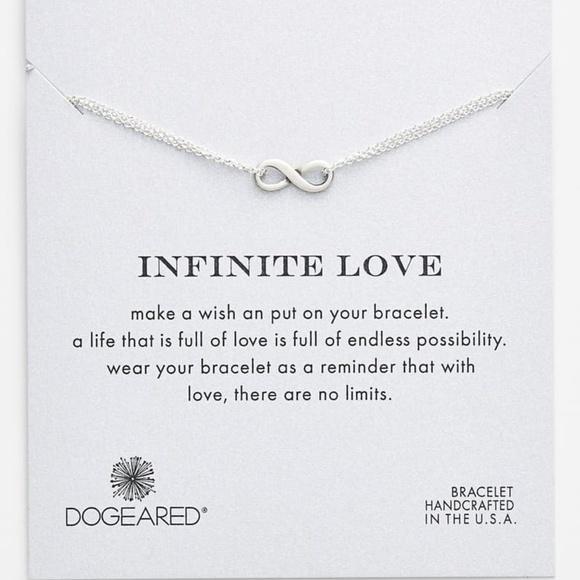 dogeared Jewelry - Dogeared 'Infinite Love' Boxed Bracelet- Silver
